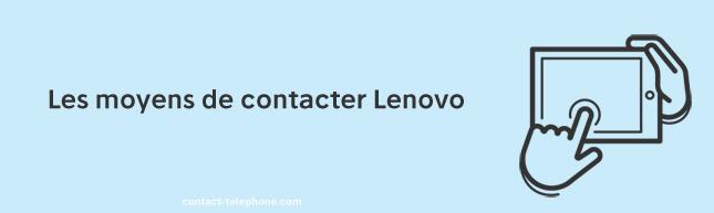Contacter Lenovo