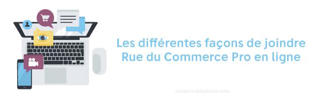 Contacter Rue du commerce Pro par mail