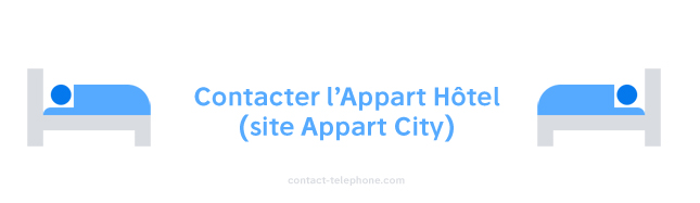 Contacter l'Appart Hotel (Appart City)