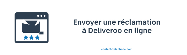 Deliveroo adresse reclamation