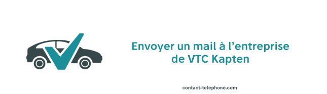 Kapten VTC Contact mail