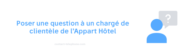 L'appart Hotel Contact client
