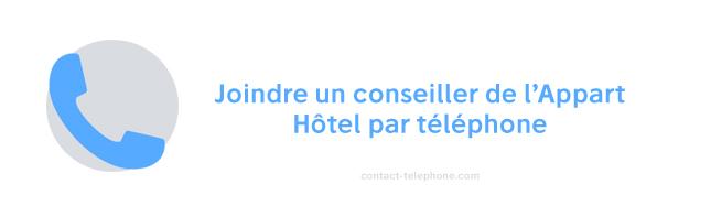 L'appart Hotel numero de telephone