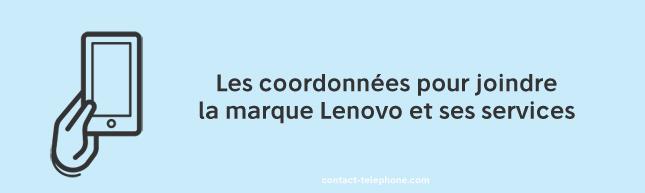 Lenovo numero, adresse et mail