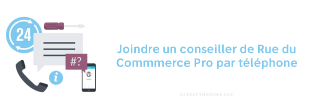 Numero de téléphone Rue du Commerce Pro