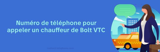 Bolt numero de telephone