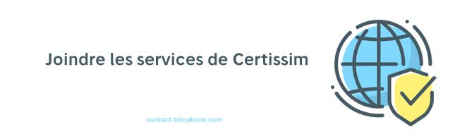 Contact Certissim