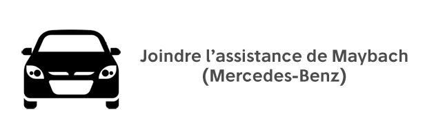 Contacter Maybach Mercedes Benz