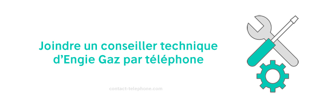 Engie Gaz numero de telephone