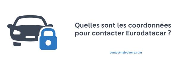 Eurodatacar contact telephone