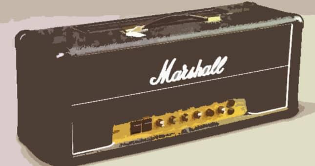 Marshall amp Contact