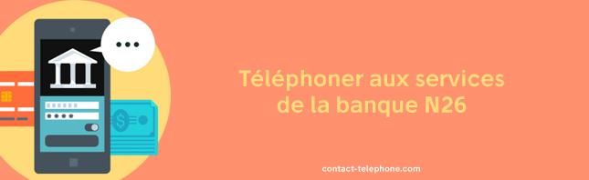 N26 numero de telephone