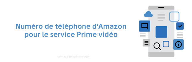 Numero de telephone Amazon Prime