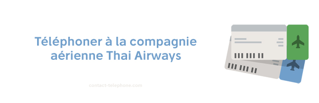 Thai Airways contact telephone