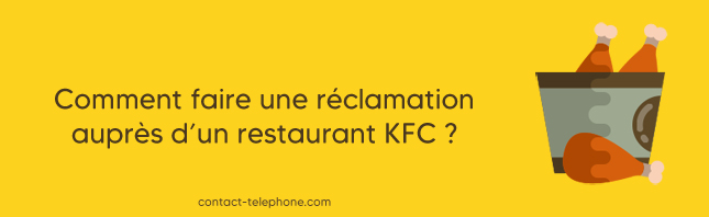 Contacter KFC pour une reclamation
