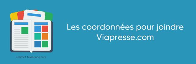 Contacter Viapresse