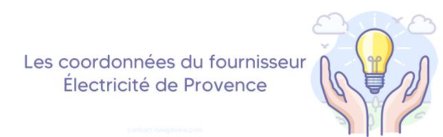 Electricite de Provence Adress