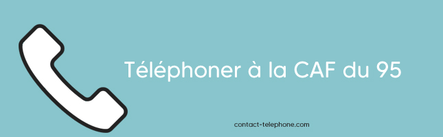 Numero de telephone CAF du 95