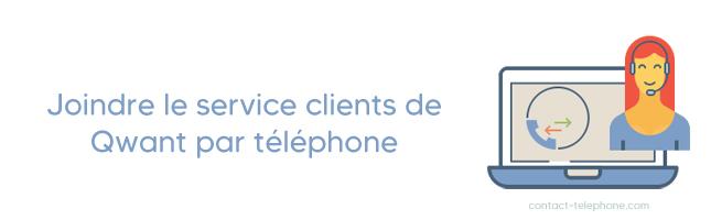 Qwant contact par telephone