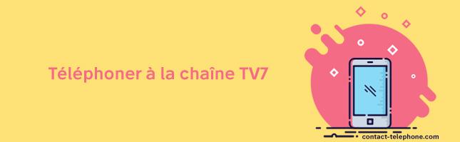 Telephone chaine TV7