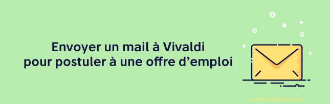 Vivaldi adresse mail
