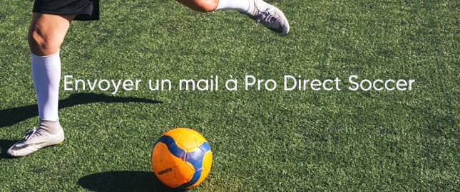 Adresse mail Pro Direct Soccer
