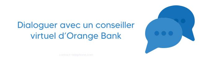 Chat conseiller Orange Bank