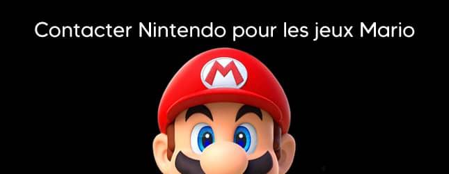 Contacter Mario (le jeu de Nintendo)