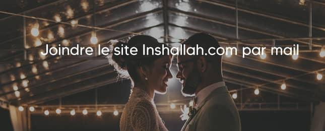 Inshallah contact par mail
