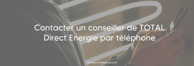 Numero de telephone de Total Direct Energie