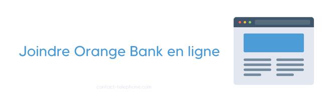 Orange Bank adresse et telephone