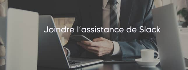 Slack Contact assistance