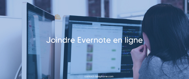 Contacter Evernote