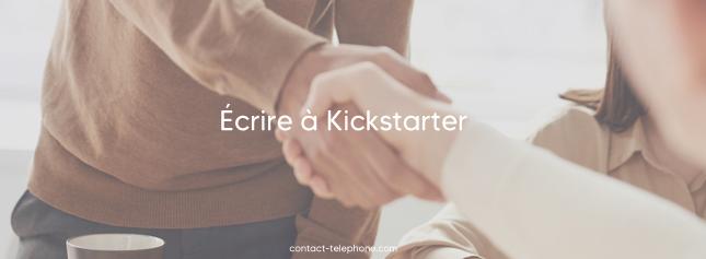 Contacter Kickstarter par mail