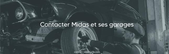 Contacter Midas