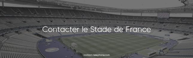 Contacter le Stade de France