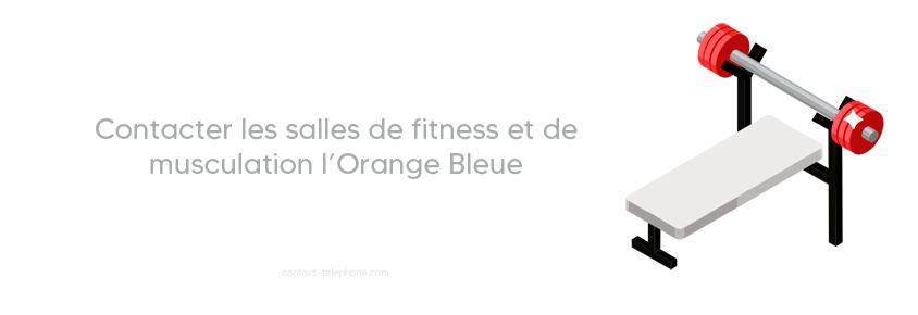 Contacter l'orange bleue