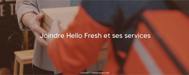 Hello Fresh Contact