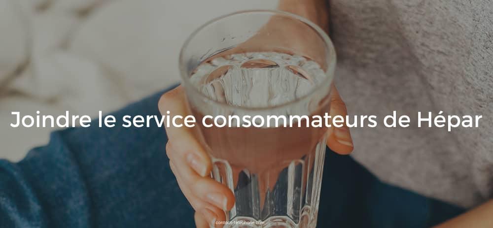 Service consommateurs Hepar