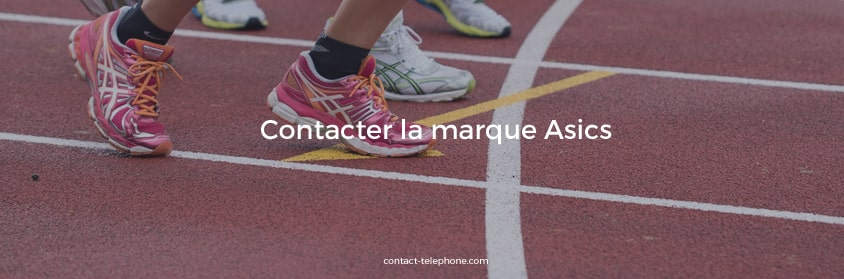 Asics contact telephone mail