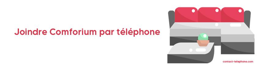 Comforium contact par téléphone