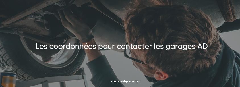 Contacter AD (garages automobiles)