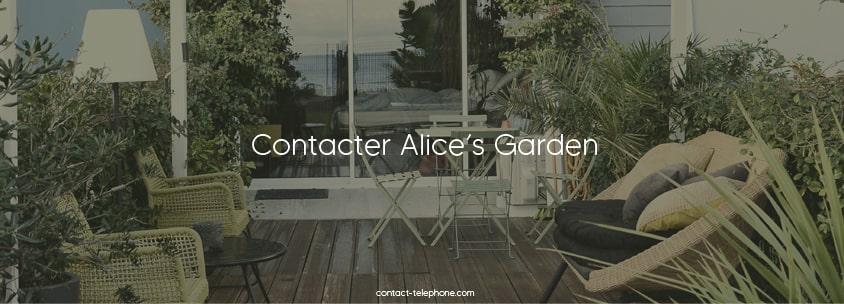 Contacter Alices Garden