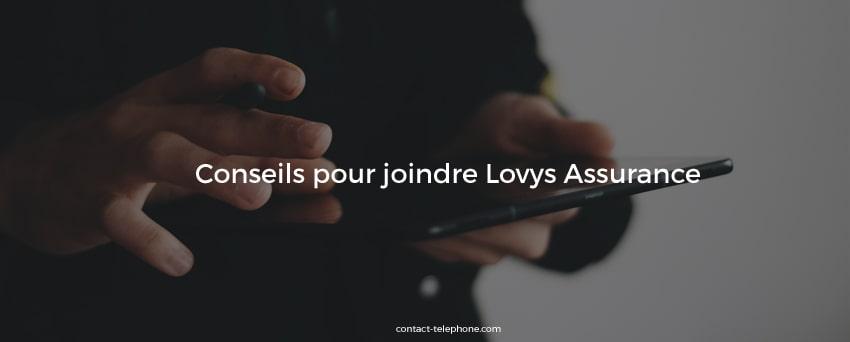 Contacter Lovys assurance