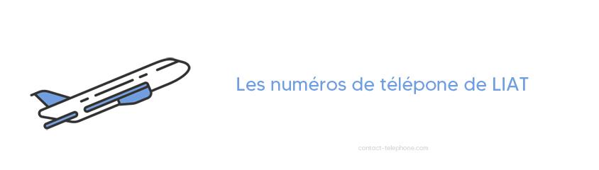 LIAT numero de telephone