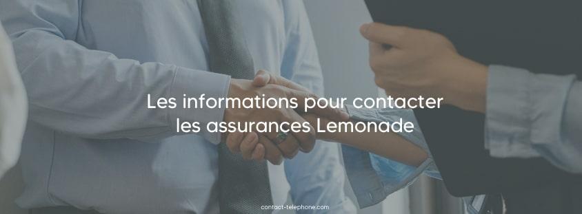 Contacter Lemonade assurance