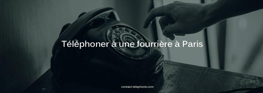 Telephone fourriere auto Paris