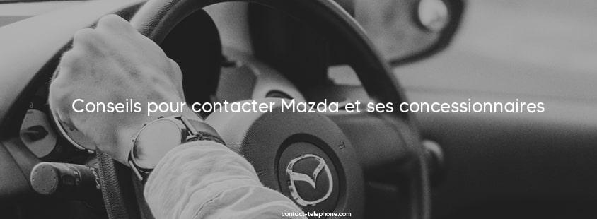 Contacter Mazda