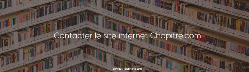 Contact Chapitre.com