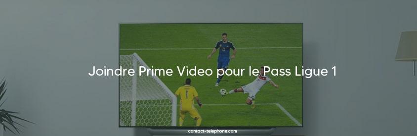 Contact Pass Ligue 1 Amazon Prime Video